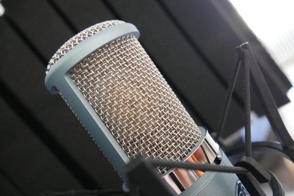Studio Entre Temps Charles MARTIN micro AKG 420 Precision