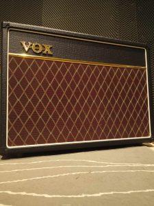 Studio Entre Temps Guitare Amp Vox AC15 C1 Charles MARTIN Rochecorbon