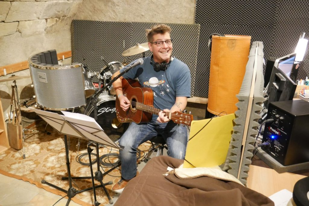 Studio Entre Temps Charles MARTIN Enregistrement Instrumentarium Ambulant Guillaume VICHERY