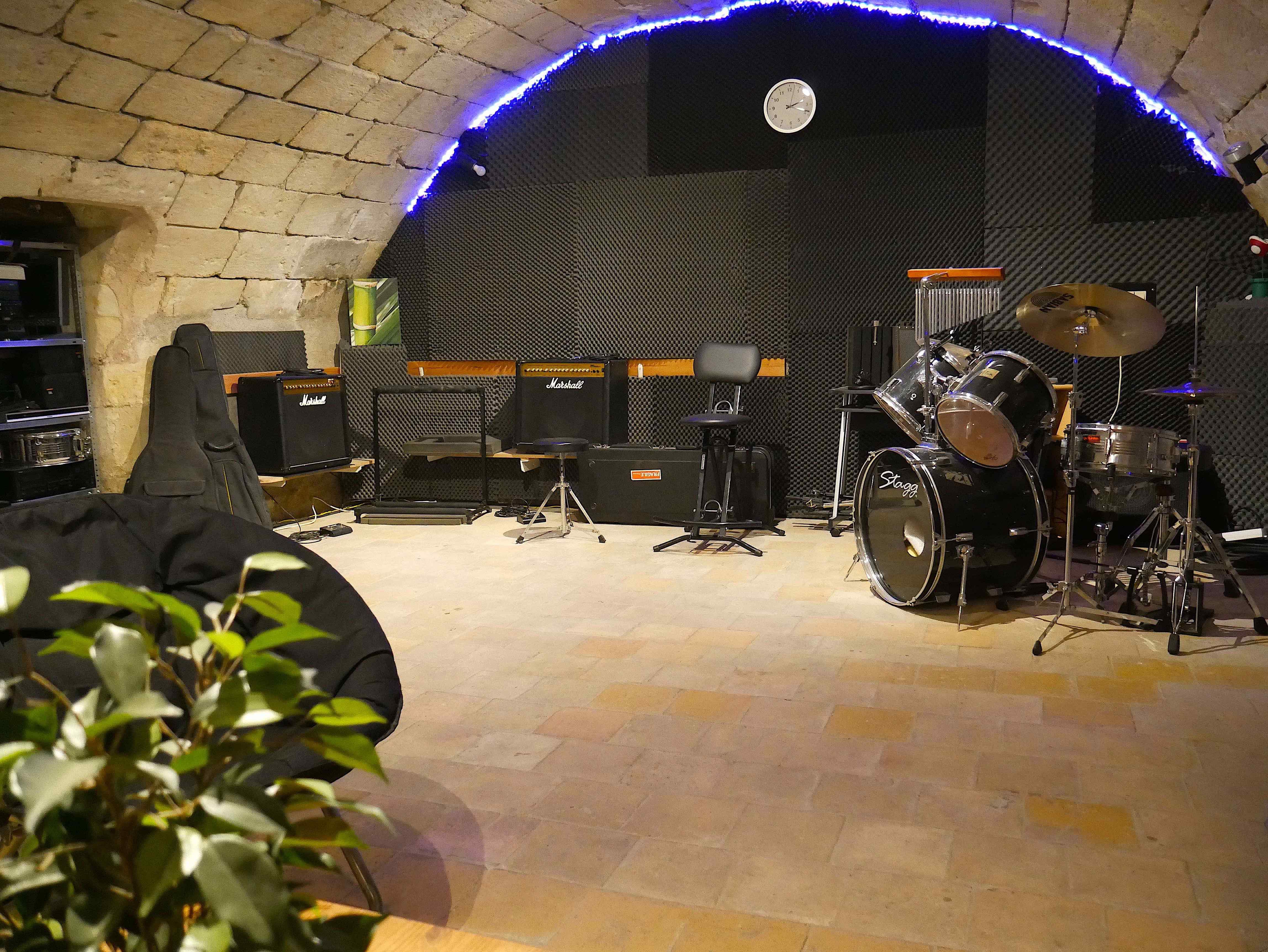 Studio Entre Temps Enregistrement répétition musique groupe