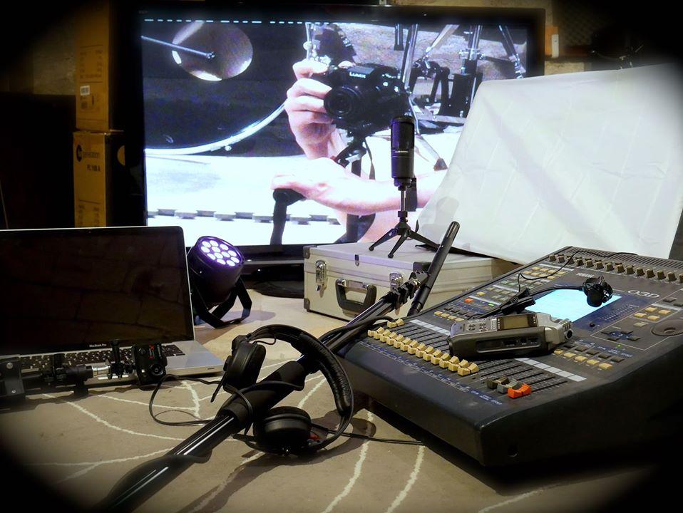 Studio Entre Temps Charles MARTIN Atelier decouverte initiation outils audiovisuel